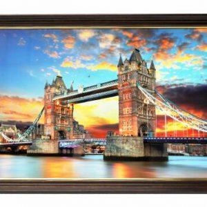 Картина - пейзаж с моста Тауър Бридж