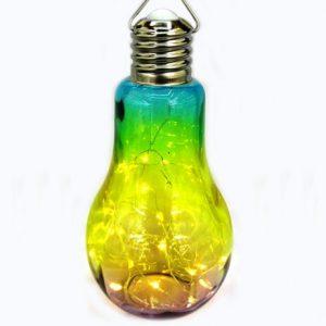 светеща декоративна крушка с LED светлина на батерии