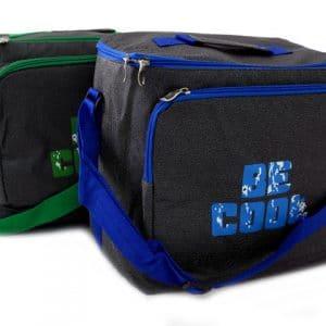 Хладилна чанта за излет BE COOL в син и зелен цвят
