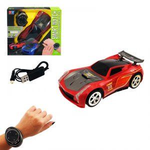 кола със смартфон часовник на батерии