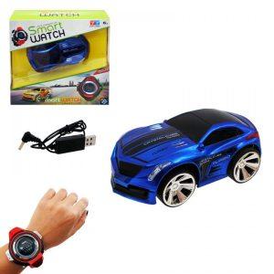 кола със смарт часовник