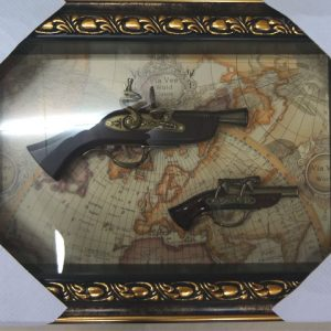 картина макет на оръжия