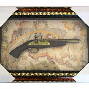картина - пано декоративен пистолет