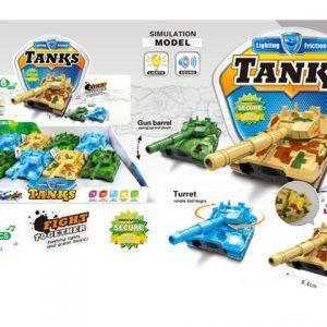 комплект светещи танкове