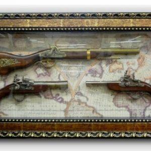 макет-картина-пушка-пистолети